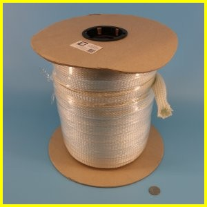silica braided sleeve high temperature heat resistant wire cable hose protection